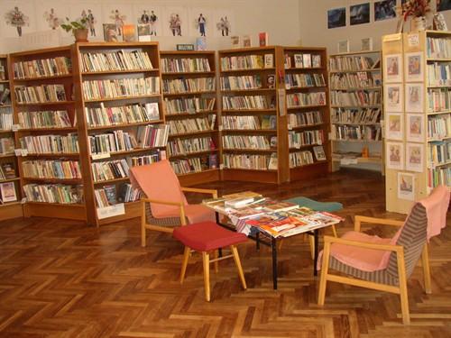 Vnitřní prostory knihovny